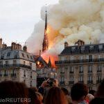 Incendiul de la Catedrala Notre-Dame din Paris, cel mai mediatizat eveniment pe Twitter, în 2019