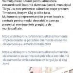 10:47 Romanescu: Târgu-Jiu, din nou în centrul atenției