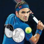 Roger Federer, primul elveţian în viaţă pentru care se emite MONEDĂ