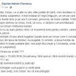09:50 Florescu: Liberalii au bugetat al doilea post de subprefect. Deci... bani aveți, d-le Orban. Nu vă mai plângeți!