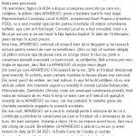 10:07 Marcel Romanescu: Nu am pierdut procesul cu ADIA. Termen pe 14 februarie
