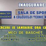 15:14 Angajații primăriei joacă BASCHET la inaugurarea sălii de sport
