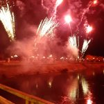 00:56 Foc de artificii IMPRESIONANT la Târgu-Jiu. VIDEO