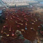 INCREDIBIL! China construieşte un spital în 6 zile