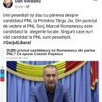 21:18 Vîlceanu: Marcel Romanescu este candidatul PNL Gorj
