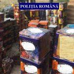 10:10 TONE de petarde, confiscate de polițiștii gorjeni, de sărbători