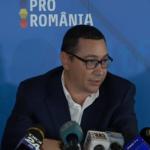 18:04 Ponta ameninţă cu moţiunea de cenzură