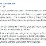 11:39 Senatorul Cârciumaru: Nesimțirea PNL nu are limite!