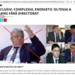 ceo360.ro: Complexul Energetic Oltenia a rămas fără DIRECTORAT