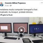 17:36 Noul computer tomograf, în probe tehnice