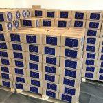 Se împart produsele de igienă de la UE