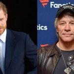 Prinţul Harry i se va alătura lui Bon Jovi pentru a înregistra un cântec