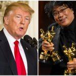 """Trump a criticat filmul """"Parasite"""", marele câştigător al Premiilor Oscar"""