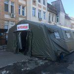 43 de persoane ÎN CARANTINĂ în Gorj. Corturi de TRIAJ, instalate lângă spitale