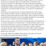 12:55 Senatorul Cârciumaru acuză guvernul că tratează PANDEMIA cu superficialitate