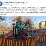 Locurile de joacă din Târgu-Jiu, ÎNCHISE