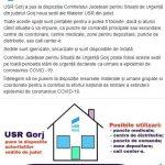 21:03 Un PARTID din Gorj  pune la dispoziția autorităţilor spaţii în mai multe localităţi