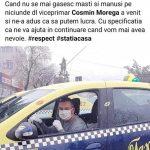 Măștile de protecție produse la Motru au succes. Morega: Le-am împărțit și taximetriștilor!