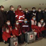 Ajutor din China pentru Italia. Experţi şi TONE de echipamente
