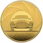 Monedă din aur, de 7.000 de lire sterline, în onoarea lui James Bond