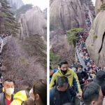 Chinezii se îmbulzesc în stațiunile turistice, după ridicarea interdicțiilor
