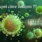 14:39 Motru: APEL către cetățeni după confirmarea primului caz de infectare cu COVID-19