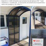 09:29 Tunel de decontaminare și la spitalul de la Dobrița