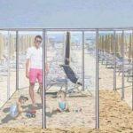 """Cum ar putea arăta vacanţele pe litoral. """"Izolete"""" din sticlă instalate pe plajă"""