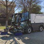 PRIMA mașină de curățenie a ajuns la Târgu-Jiu