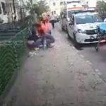 10:51 A ameninţat că-şi taie gâtul în faţa poliţiştilor