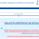07:36 Firmele afectate de criza COVID-19 pot solicita certificatele de situații de urgență. Site-ul este funcțional