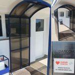 Tunel de decontaminare și la Spitalul Dobrița