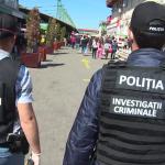Polițiști și soldați, în Piața Centrală din Târgu Jiu