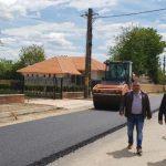 10:16 CJ Gorj: Lucrări de reabilitare a DJ 672E, pe raza comunei Bălești
