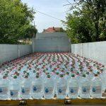 15:06 Aparegio Gorj a distribuit 600 de bidoane cu apă în comuna Scoarța