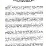 11:20 SCRISOARE de 8 pagini trimisă de Marin Condescu primarului Marcel Romanescu