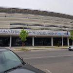 Mesaj de susținere pentru Pandurii, AFIŞAT pe stadionul municipal