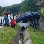 15:39 Accident la Țicleni. 4 răniți
