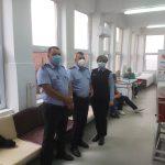 15:38 Polițiștii locali au donat sânge de ziua lor