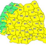 14:30 Cod galben de vreme rea în Gorj și în mare parte din țară