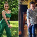 Jennifer Lopez și Jimmy Fallon recreează dansuri de pe TikTok