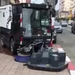 08:40 Maşinile de curăţenie, puse la treabă în Târgu-Jiu