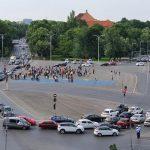 18:46 PROTEST în prima zi de relaxare