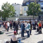 20:46 Mii de germani, din nou, în stradă