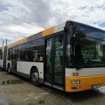 Unul dintre cele 3 autobuze închiriate a intrat pe traseu. Paraschiv: Avem 31 de autobuze DEFECTE. De multe ori, seara, nu există control