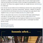 14:32 Senatorul Cârciumaru: Prelungirea stării de alertă pune pe butuci mii de firme
