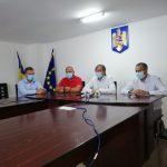 Liderii PSD Gorj, conferință de presă la Runcu. Câmpeanu și Turcilă candidează pentru noi mandate