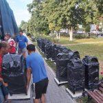 09:13 Înlocuiește coșurile de gunoi din oraș