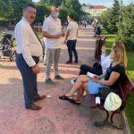 10:19 Rotaru și-a început campania electorală