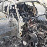 20:22 VIDEO. Autoturism mistuit de flăcări la Bâlteni